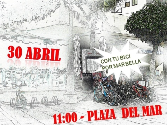 Sábado 30 Abril en bici por Marbella