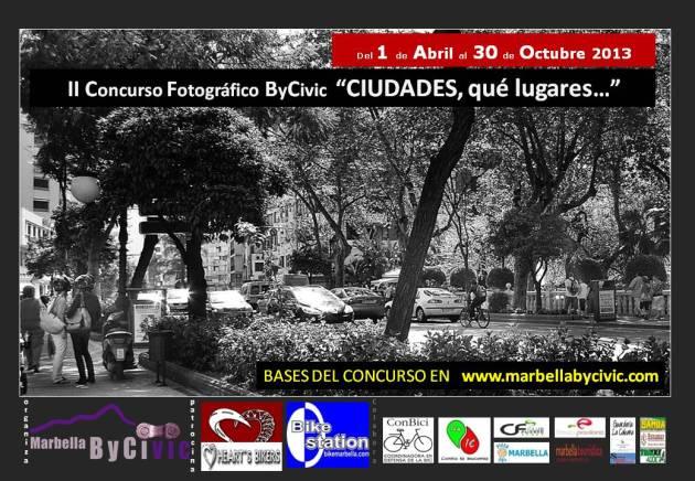 Cartel II concurso fotográfico ByCivic - CIUDADES