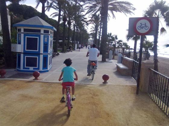 cicloturismo y ciclismo urbano en Marbella (1)