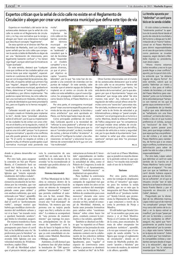 Marbella Ciclismo Urbano Movilidad Sostenible (1)