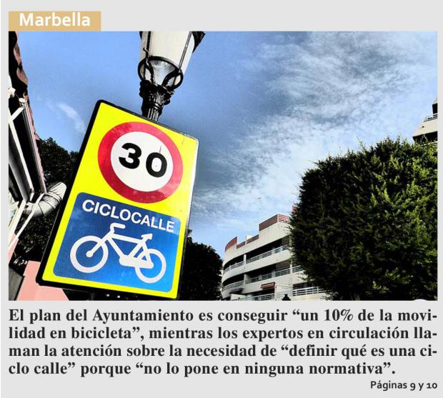 Marbella Ciclismo Urbano Movilidad Sostenible (2)