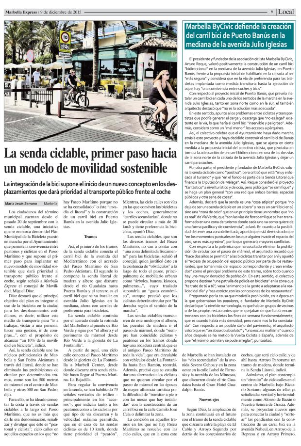 Marbella Ciclismo Urbano Movilidad Sostenible (3)