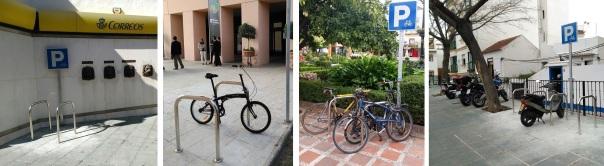 Aparcabicis Marbella Ciclismo Urbano
